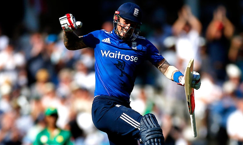 Hales registered England highest score in ODI cricket with 171. — Reuters