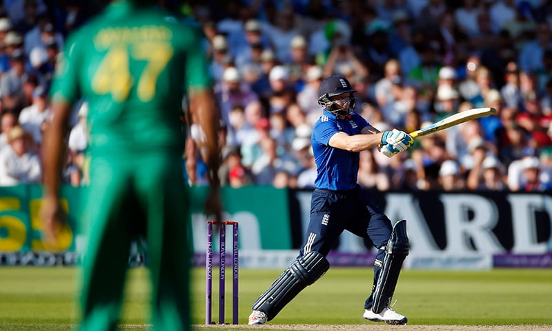 England's Jos Buttler in action. — Reuters