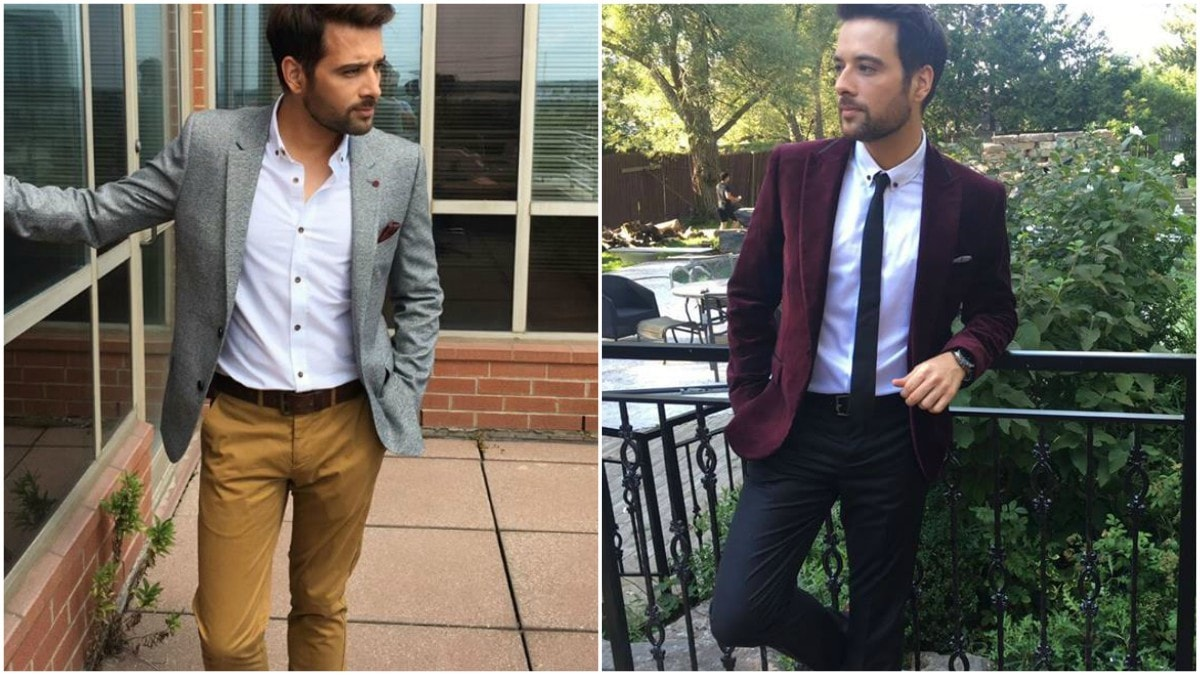 No major transformation for Mikaal - he's looking like his usual dapper self