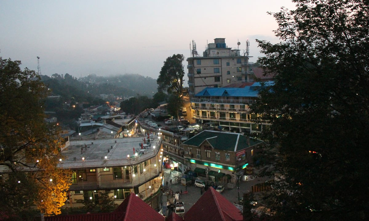 A view of the bazaar in Murree | Annie Ali Khan
