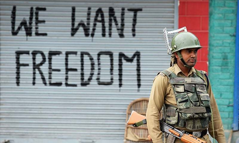 Pakistan urges India to end bloodshed in held Kashmir