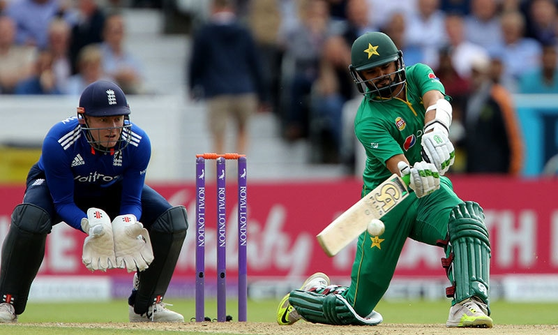 Azhar Ali fell 20 runs short of what would have been his third ODI ton. — AP
