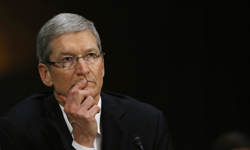 Apple chief says EU tax ruling 'total political crap'