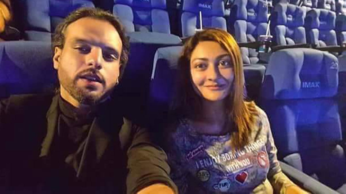 Nouman Javaid and Jana Malik on their date.- Facebook