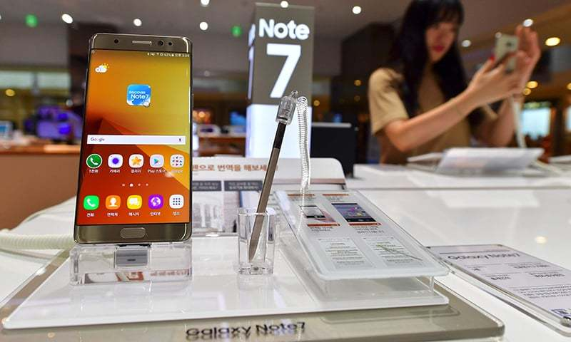 Samsung to recall Galaxy Note 7 smartphone after explosion claims