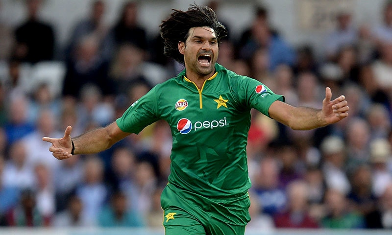 Hasan Ali will replace Mohammad Irfan for the one-off T20 against England next week. —AFP