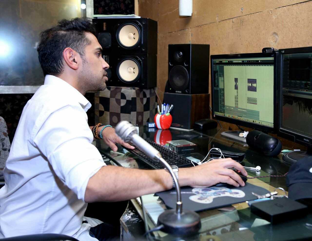 This is the first time Qurram is working as a music director of a film