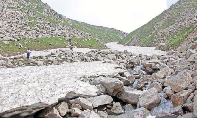 Melting glaciers pose threat to Swat region