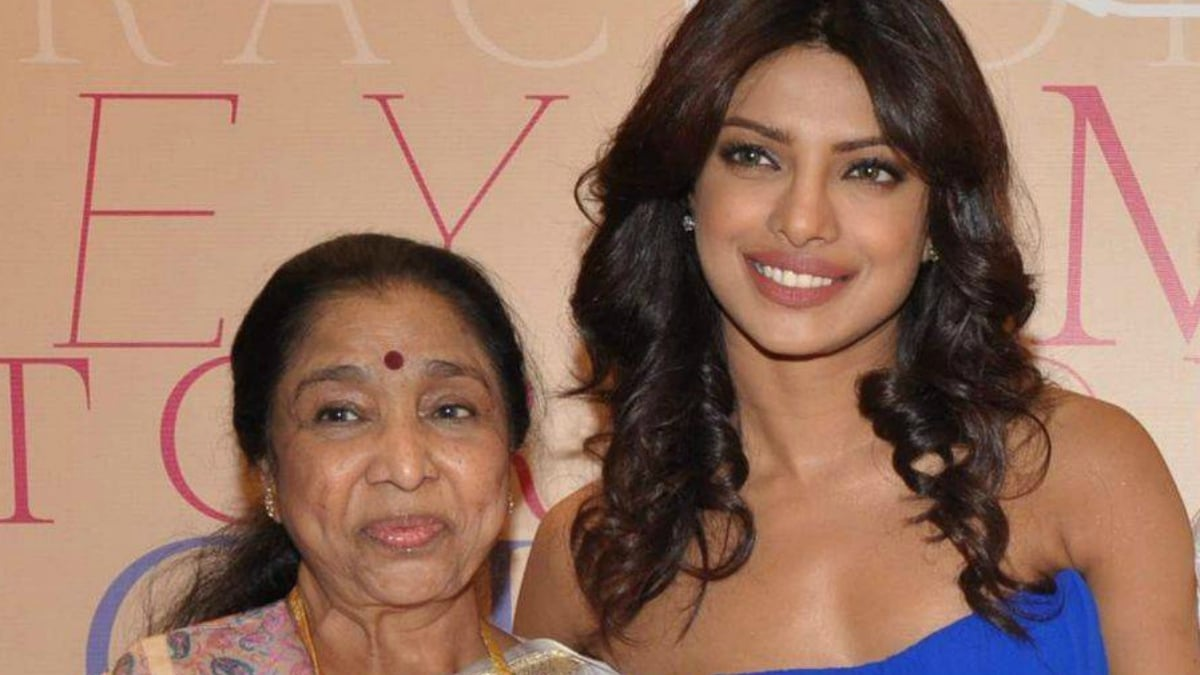 Priyanka Chopra is the perfect choice to portray me on screen, says Asha Bhosle