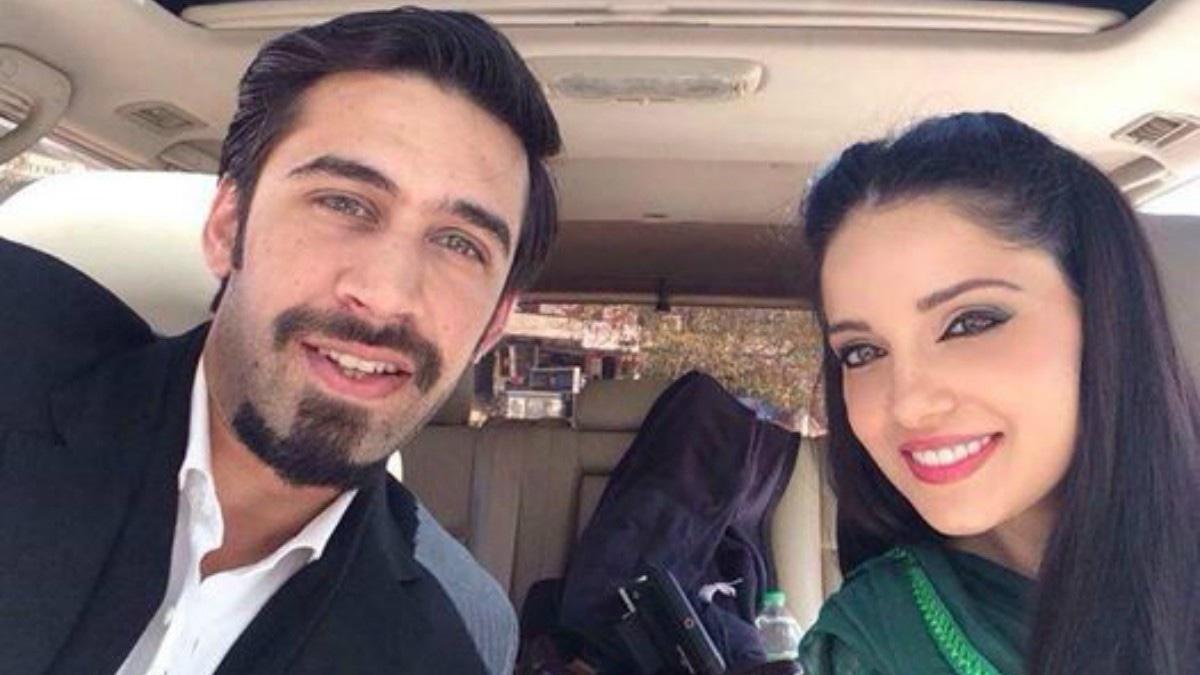 Ali Rehman Khan with Armeena Khan in Mohabbat Abb Nahi Hogi