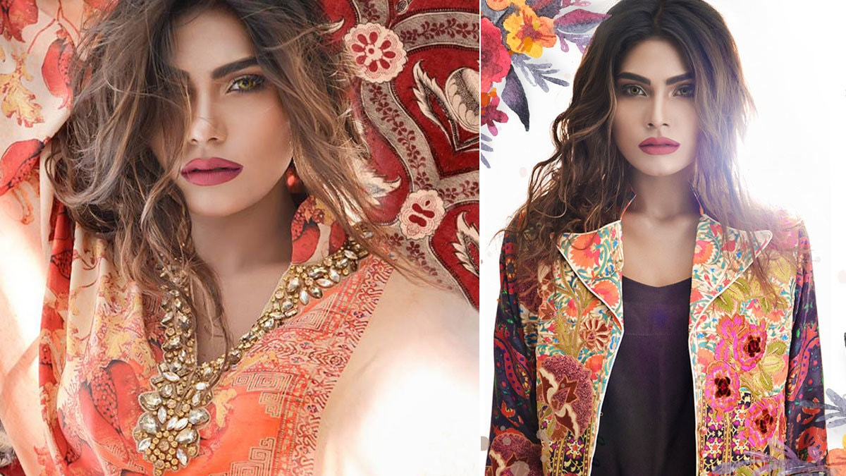 Heavy on the embroidery and colours, Shamaeel goes bold with Turkish designs