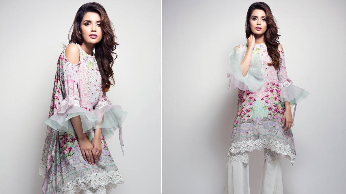 Farah Talib Aziz's light palette pairs perfectly for Eid this summer