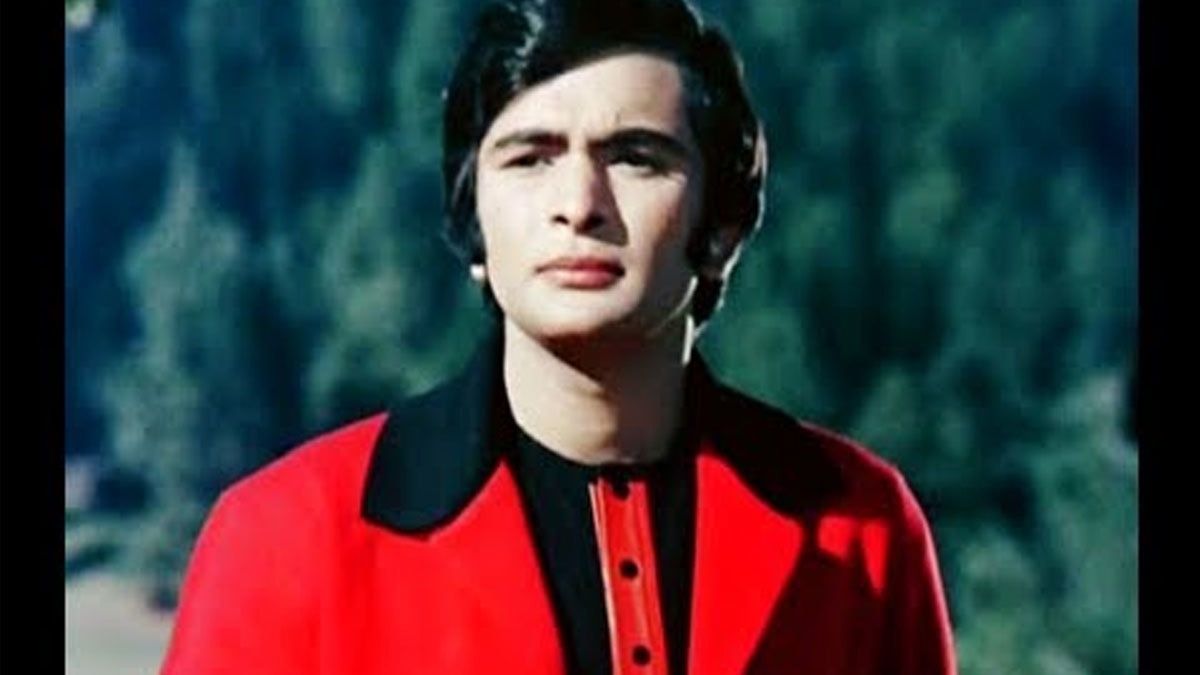 Rishi Kapoor in his statement red suit from hit film 'Bobby' (1973).