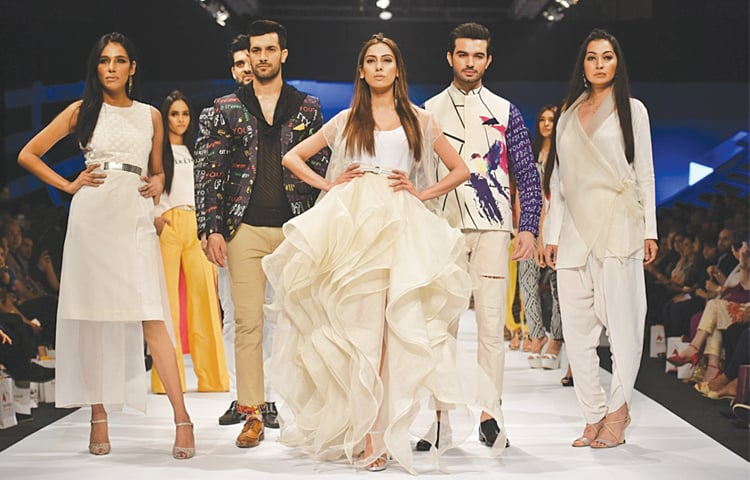 The glamour and glitz of the catwalk belies the unglamourous reality of workers who produce high-quality apparel