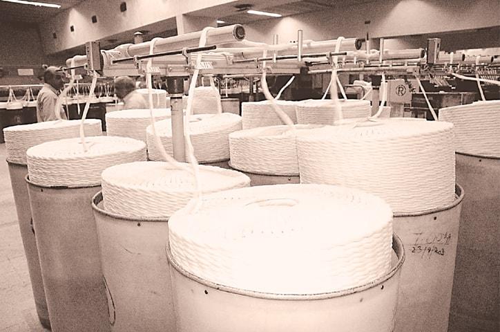 Cotton yarn manufacturing