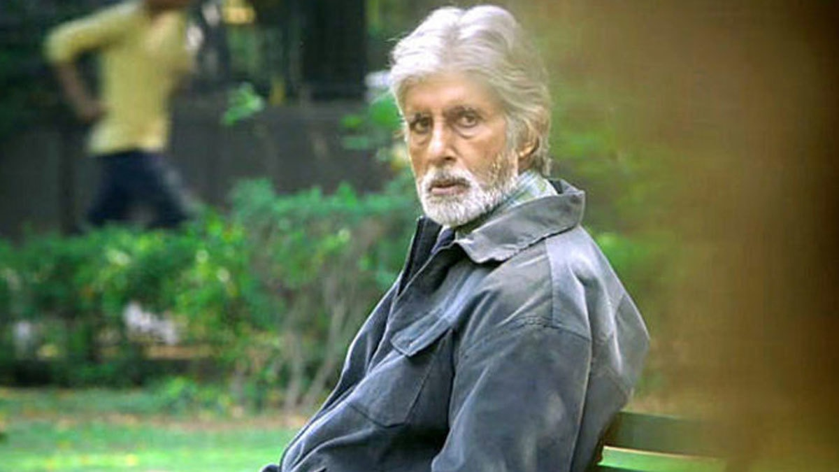 Amitabh Bachchan as vigilante/lawyer in Pink