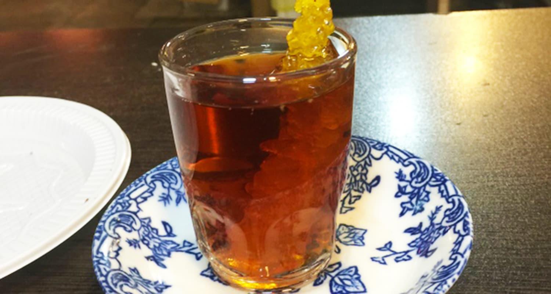 Tea, Iranian style.
