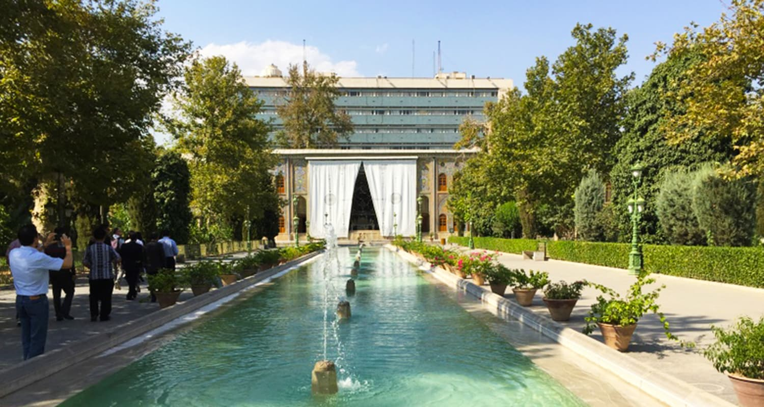 The Golestan Palace.