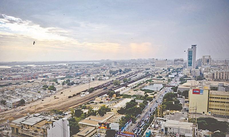 The sprawling cityscape of Karachi.                                         — Fahim Siddiqi / White Star