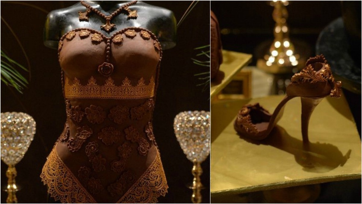 Sights from the dessert table at last year's Magnum Chocolate Party - Publicity photos