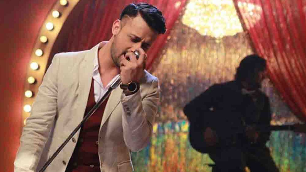 Atif Aslam in Actor In Law.