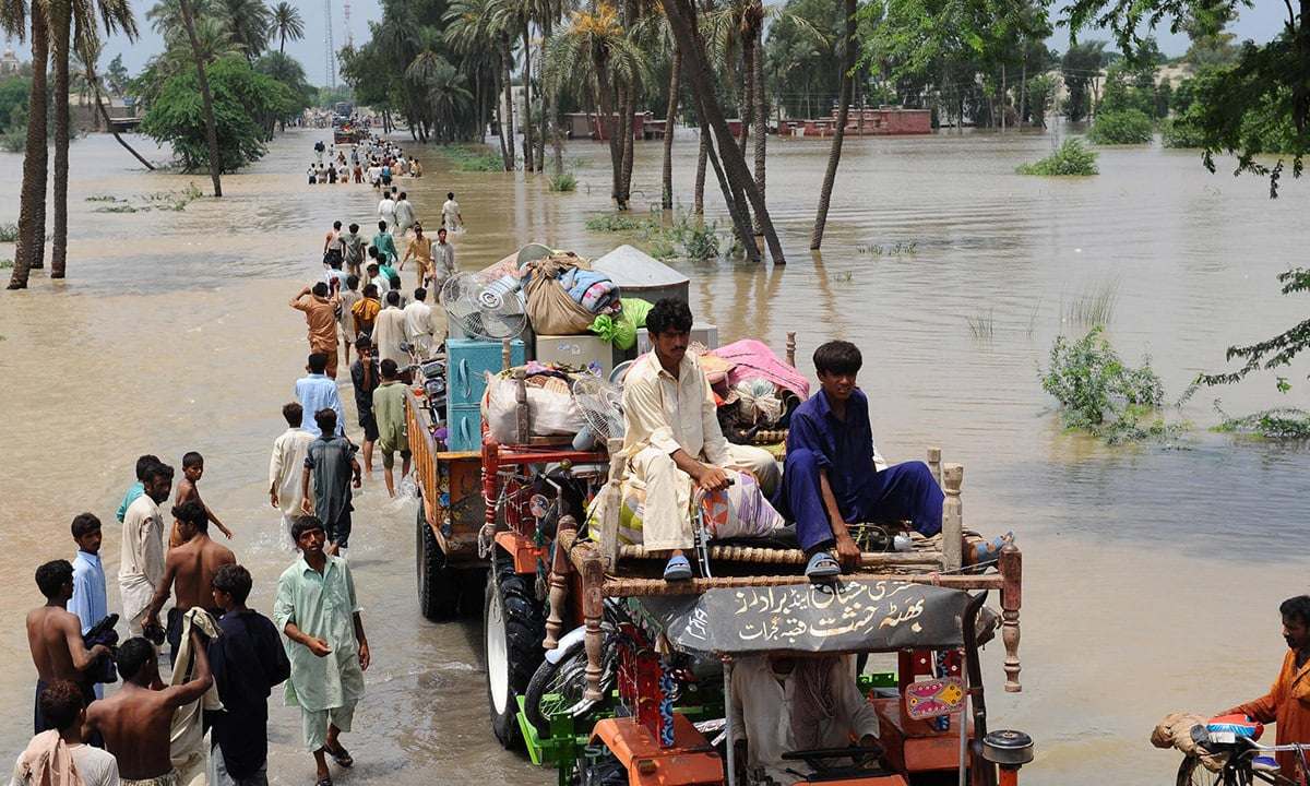 Flooding in Sindh |Arif Ali, White Star