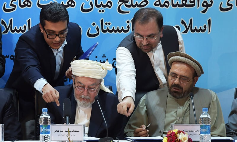Afghanistan inks peace deal with Gulbuddin Hekmatyar
