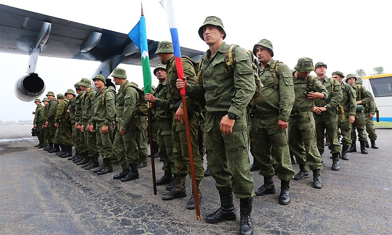Russian troops arrive for first ever joint military exercise with Pakistan
