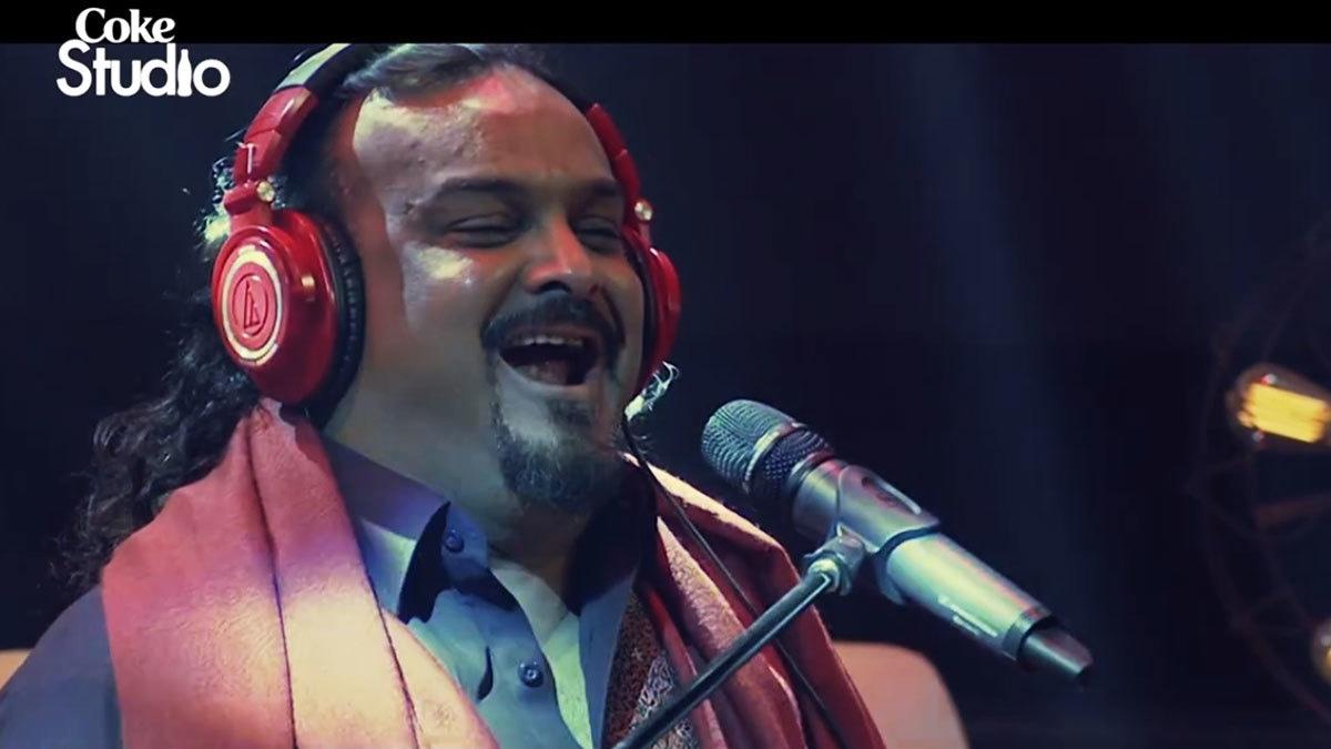 Amjad Sabri's last performance on Coke Studio leaves fans in tears
