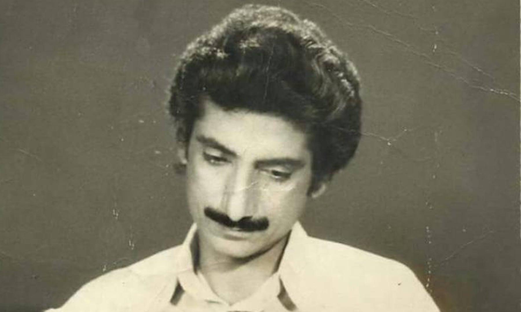 نوجوان صالح محمد شاہ عرف فتح خان — تصویر بشکریہ ریڈیو پاکستان