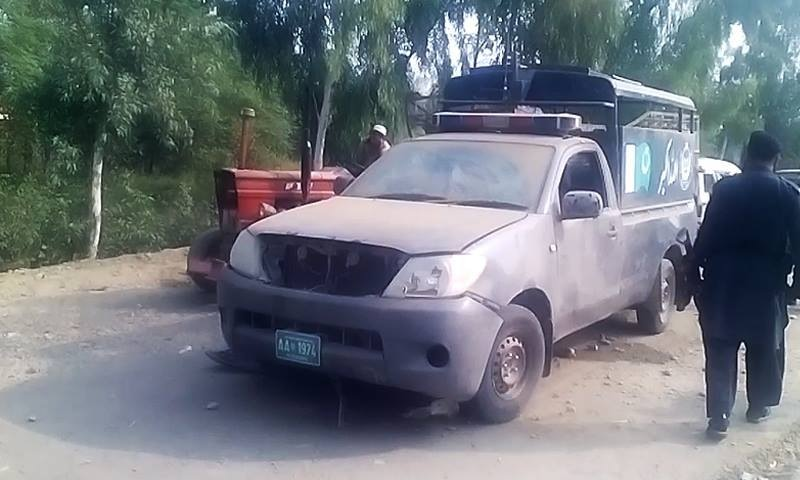 Nine injured in IED blast targeting police van in Charsadda