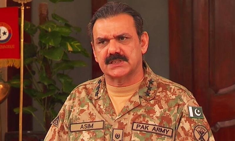 Military keeping a close eye on the eastern border: Asim Bajwa