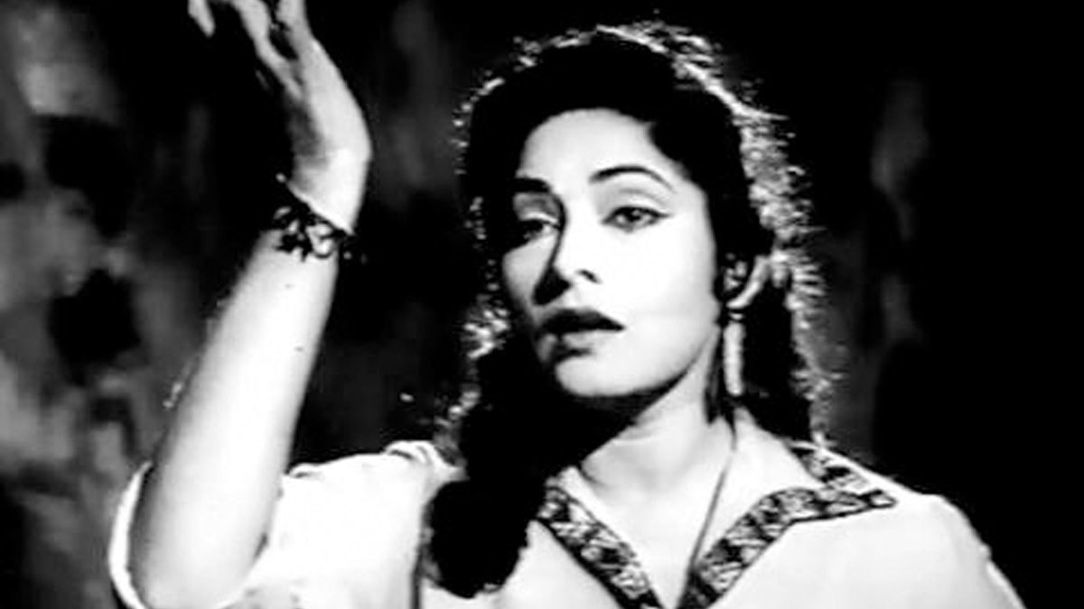 Meena Shorey in 'Gulfarosh' (1961). Photo: Cineplot