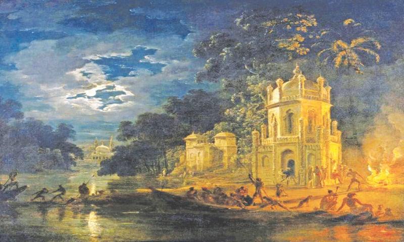 'Nagaphon Ghat' by Johann Zoffany.