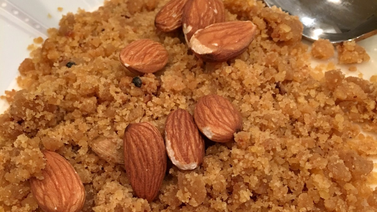 Where did halwa come from? It finds its roots in the Middle East and Asia Minor, brought to the subcontinent through trade during the Mughal expansion here