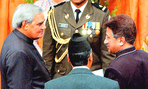 From the archives: The Saarc handshake that broke the ice between Pakistan, India