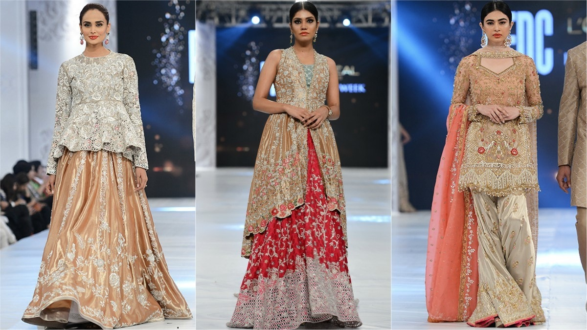 Princessy pastels dominated Sania's collection