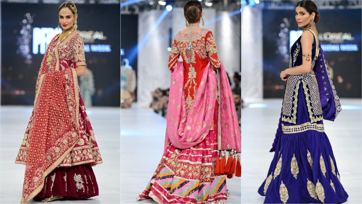 As always, there was a riot of colors on the catwalk