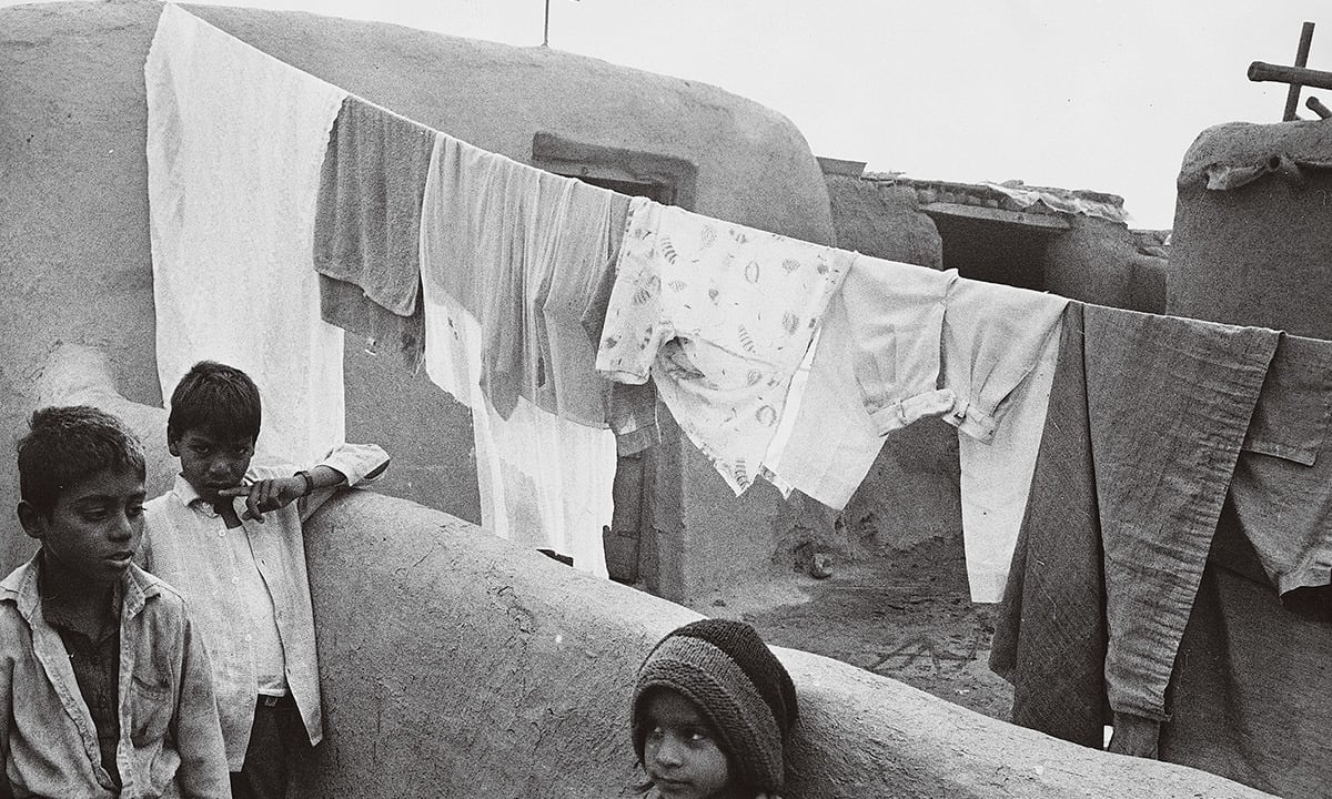 Young boys at a Christian colony in Gulberg, Lahore | Arif Mahmood, White Star