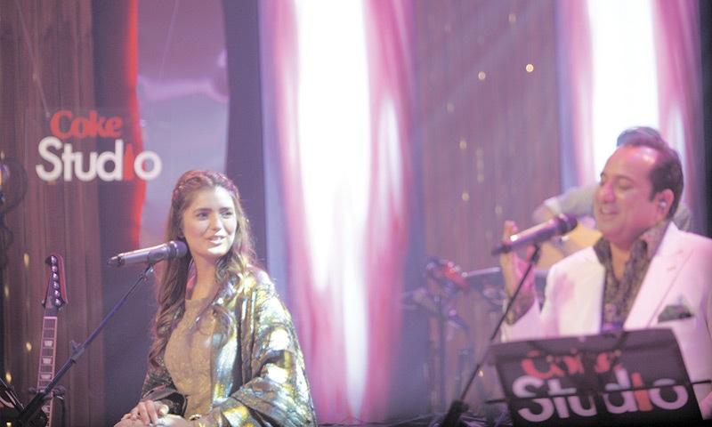 Momina Mustehsan and Rahat Fateh Ali Khan