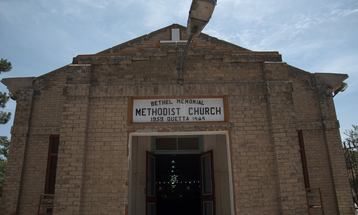 Bethel Memorial Methodist Church in Quetta | Sara Faruqi