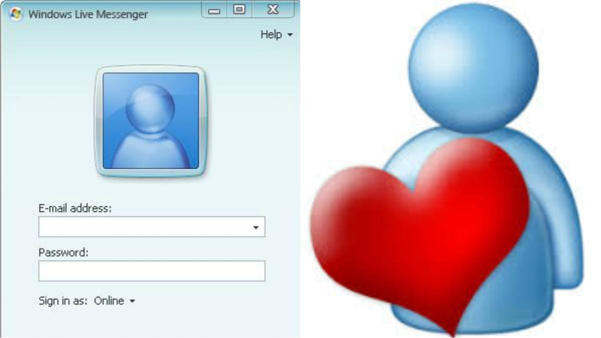 Raise your hands if you used MSN like WhatsApp on your computer back in the day.