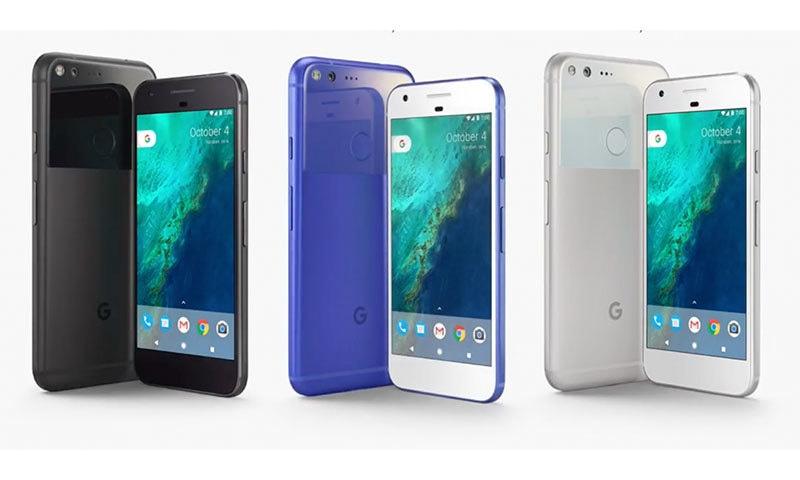 گوگل پکسل اور پکسل ایکسل — فوٹو بشکریہ گوگل