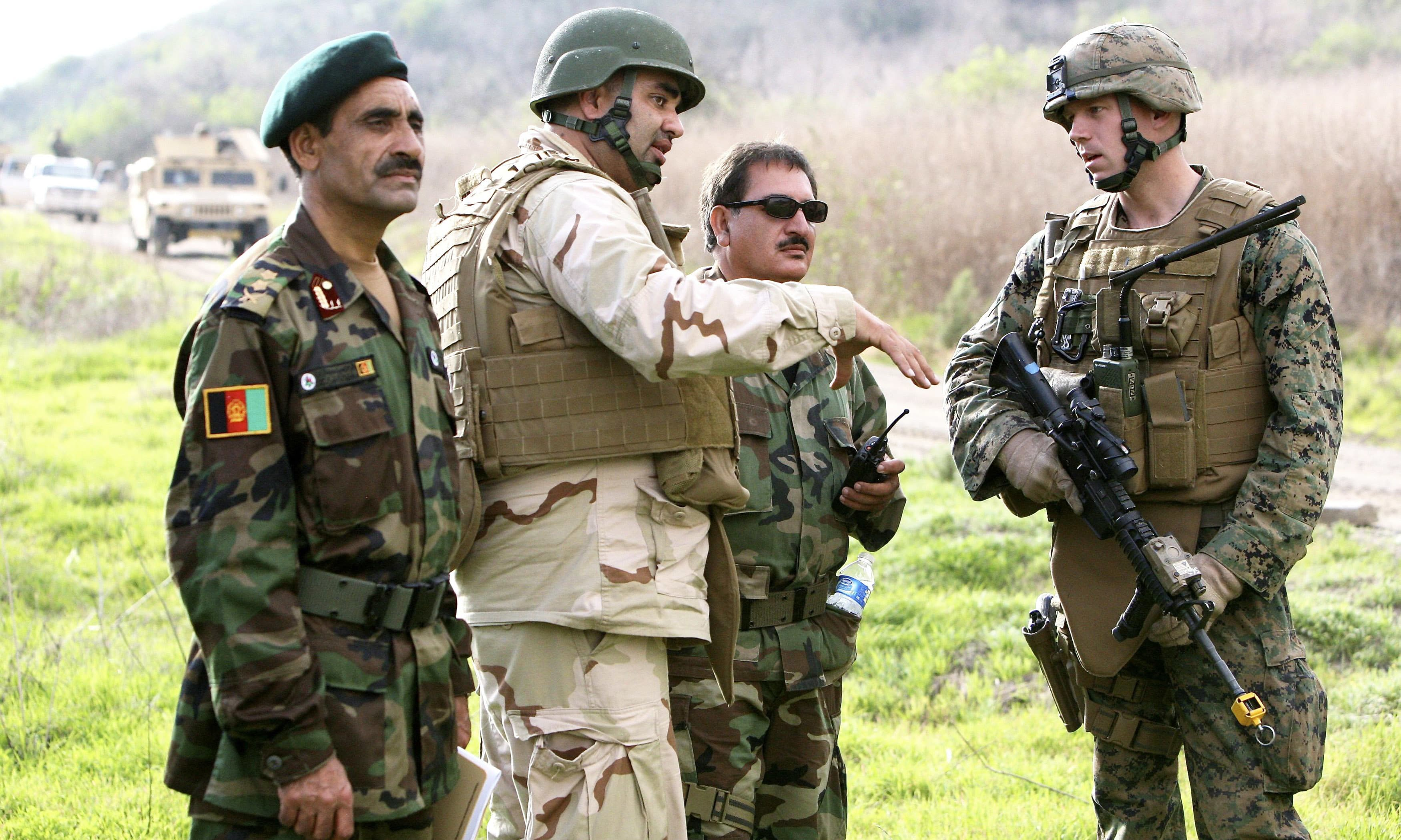 Dozens of Afghan troops missing from military training in US