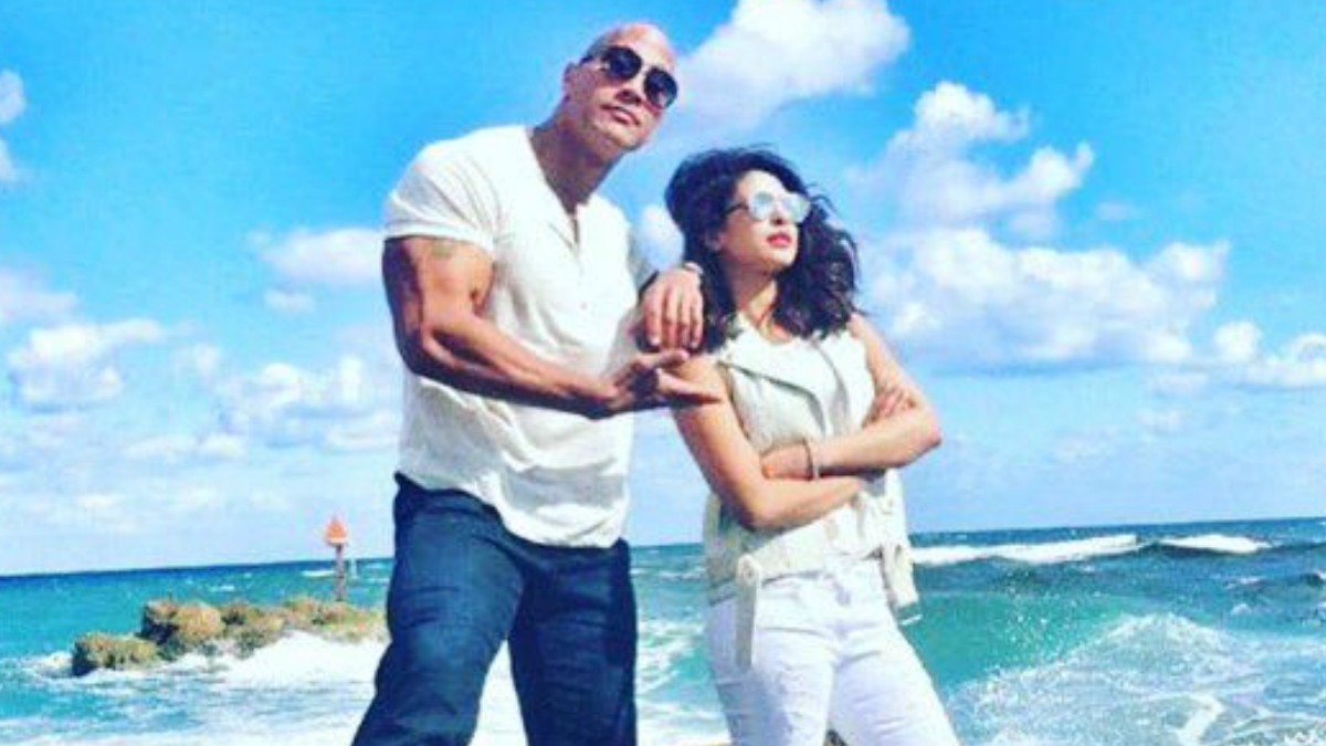 We can smell what The Rock is cooking... and it smells like Bollywood