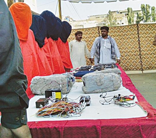 Nine Al Qaeda, LJ militants held in North Karachi