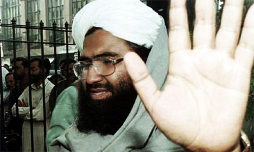 Maulana Masood Azhar, a notorious militant leader in Pakistan, resurfaced last week when he addressed by phone thousands of his supporters in Muzaffarabad.  — File Photo