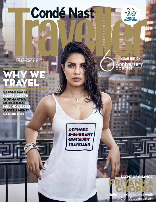 Priyanka Chopra's new magazine cover triggers online row