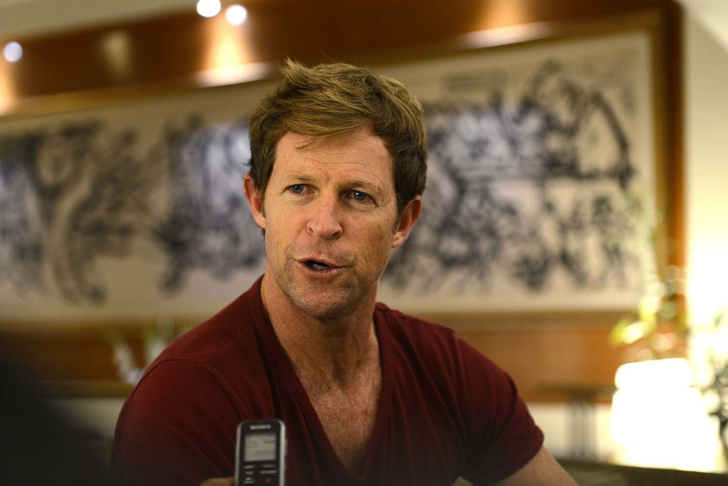 Jonty Rhodes recalls the flying Inzamam run-out during an interview with Dawn. — Syed Tahir Jamal/White Star