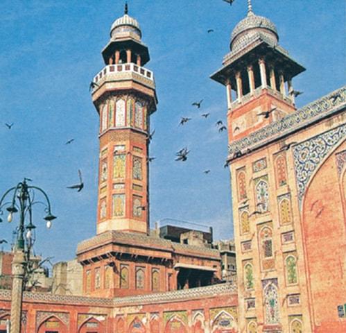 Wazir Khan Mosque.